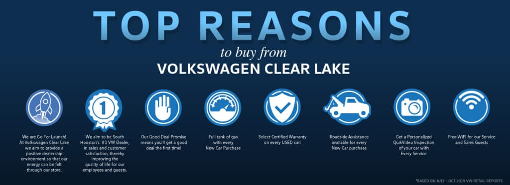 Top Reasons to Shop at Volkswagen Clear Lake!