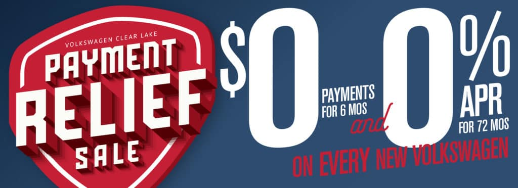 Get Payment Relief! Get 0 payments for 6 months AND 0% for 6 years!