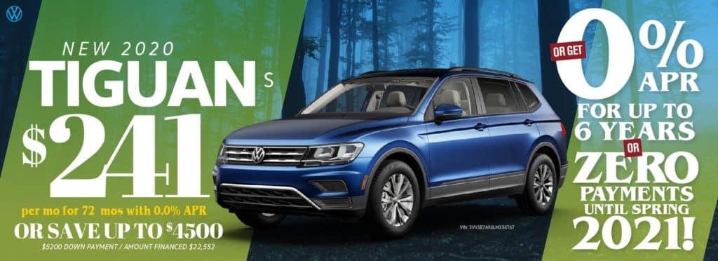 Save on remaining Tiguan models at VW Clear Lake!