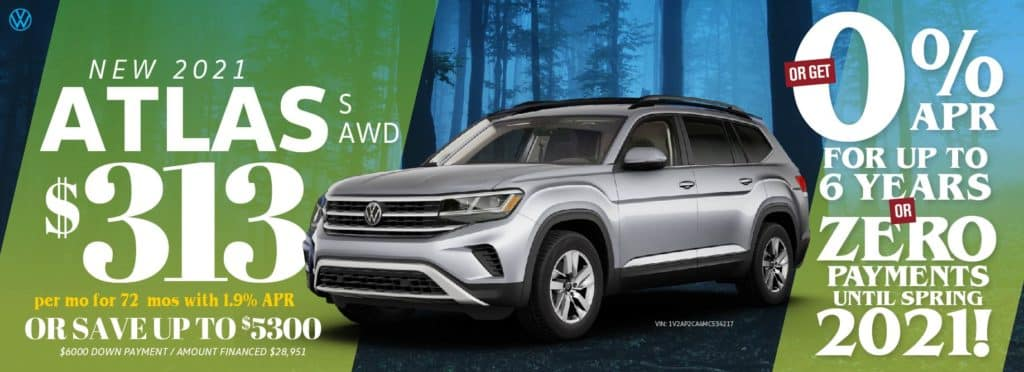 Save on the 2021 Atlas at VW Clear Lake!