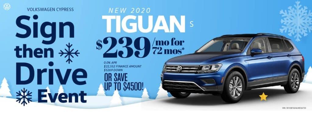 Nov20 Holiday SignDrive Tiguan_Slider