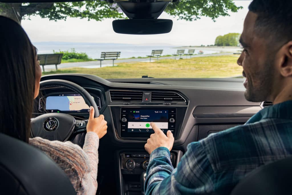 2020 Tiguan Interior Comfort and Safety Features