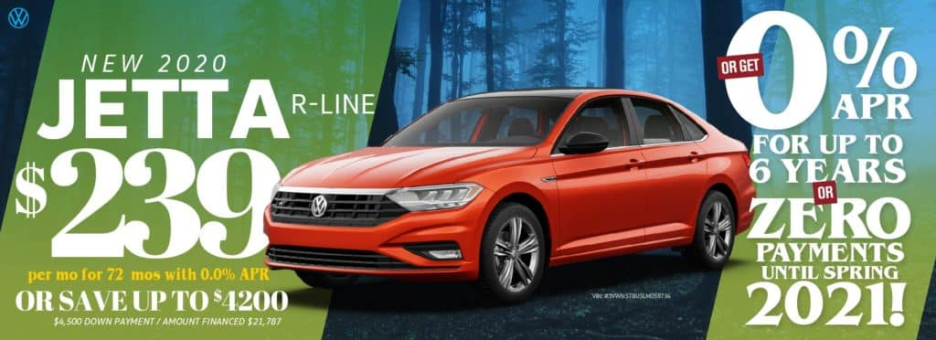 The Jetta R-Line is a must see at VW Cypress!