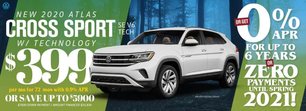 Don't miss out on the brand new 2020 Cross Sport at VW Cypress!