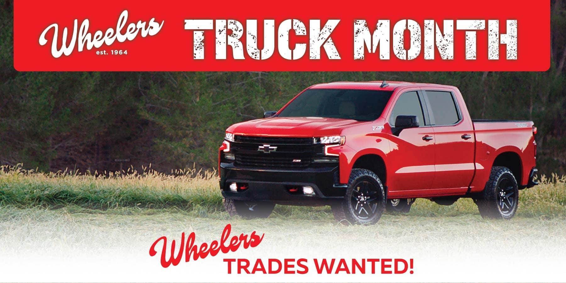 Wheeler Truck Month