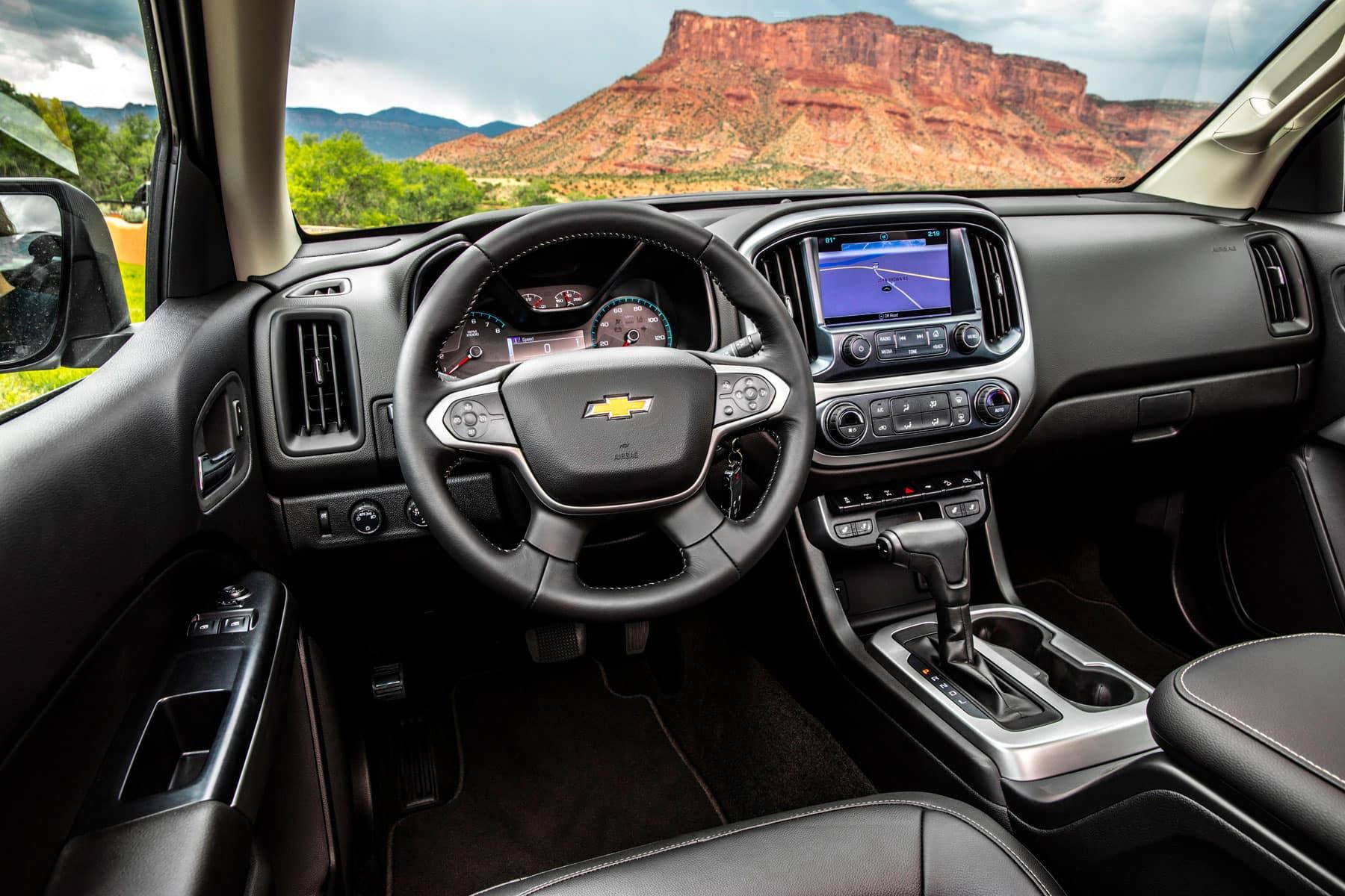 2020 Chevrolet Colorado ZR2 Interior