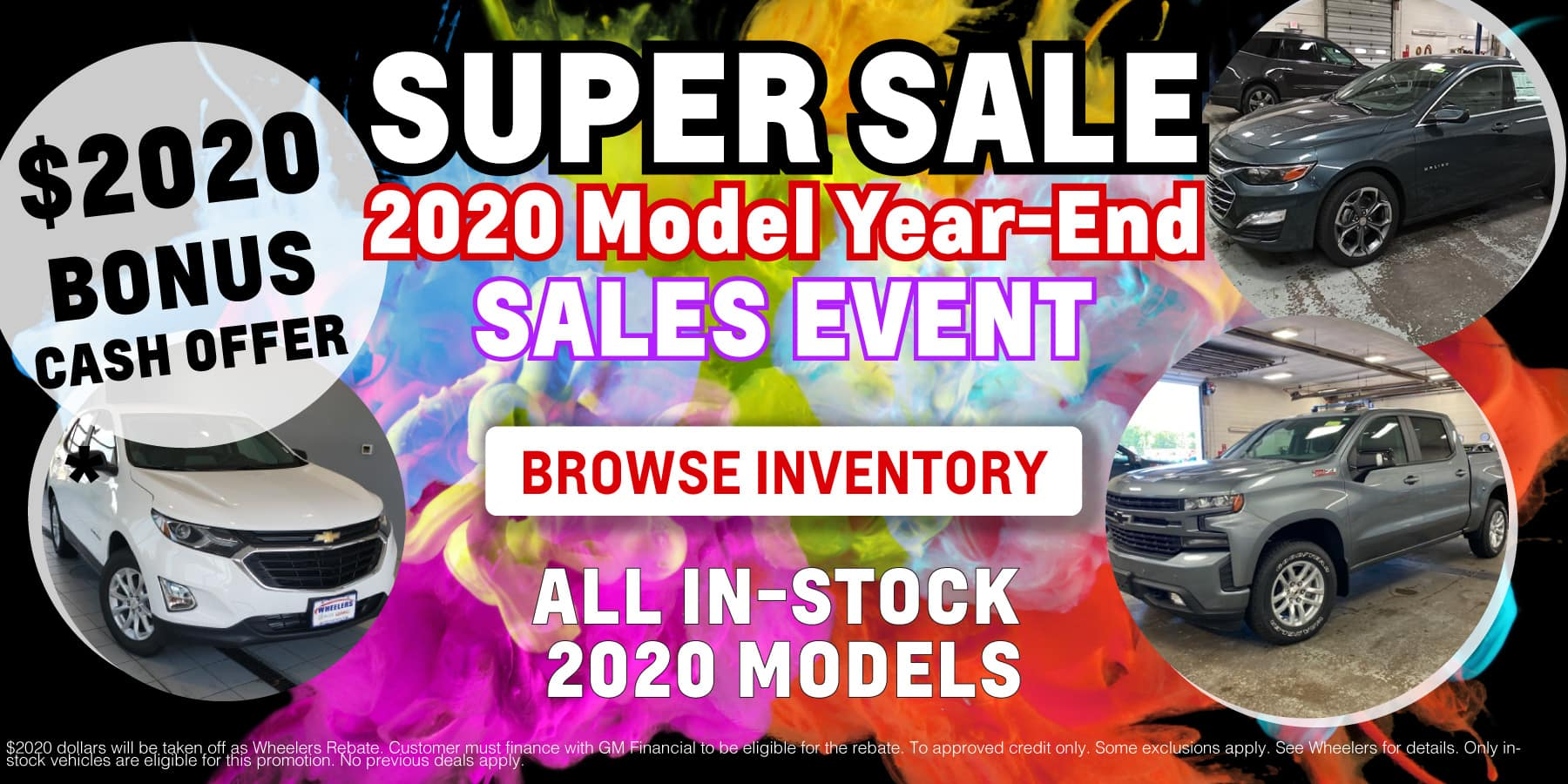 2020 Model Year End Offers