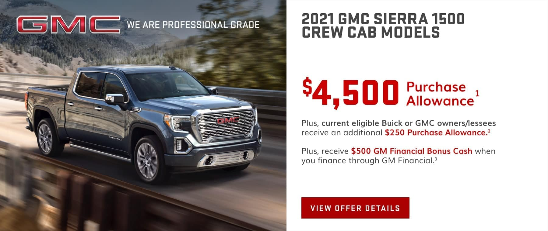 GMC Sierra May Special Offer