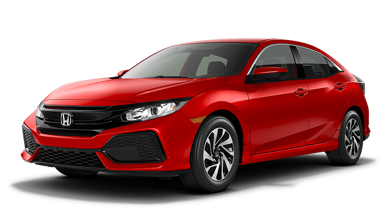 2019 Honda Civic HB Red