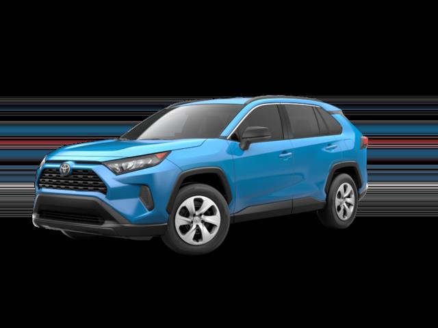 New 2021 Toyota RAV4 LE AWD 5