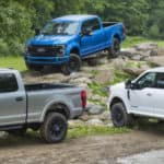 new Ford trucks